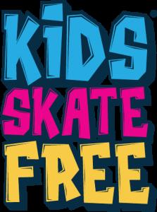 kids skate free logo