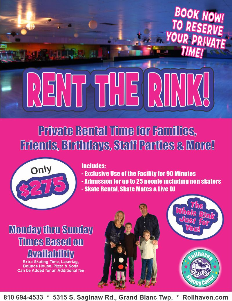 Small Group rental flyer