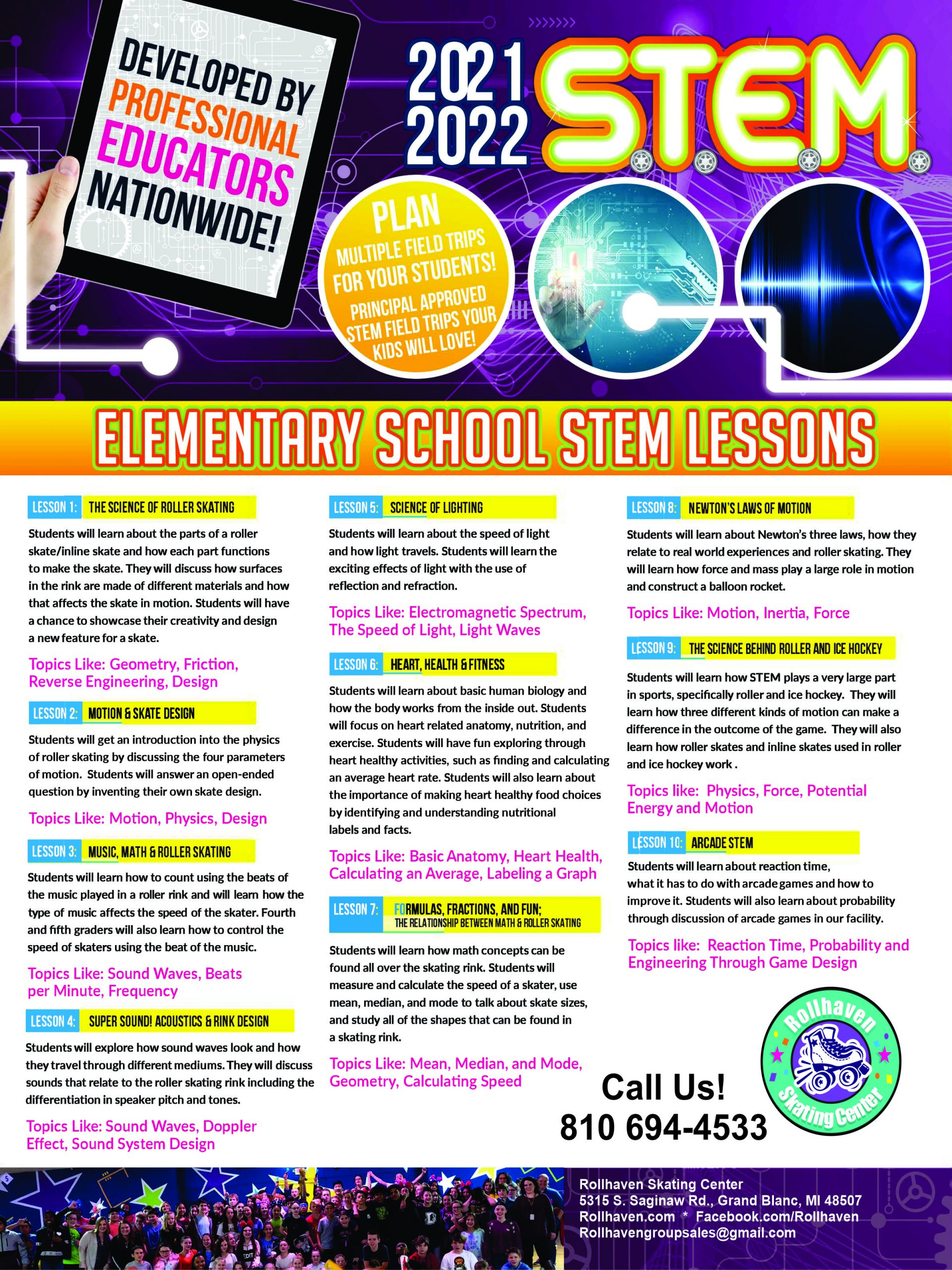 lesson plans for STEM field